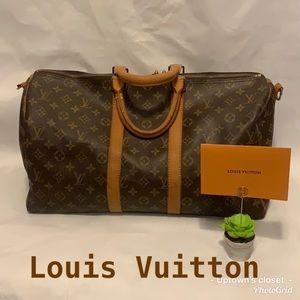 Authentic Louis Vuitton travel duffel keepall 45